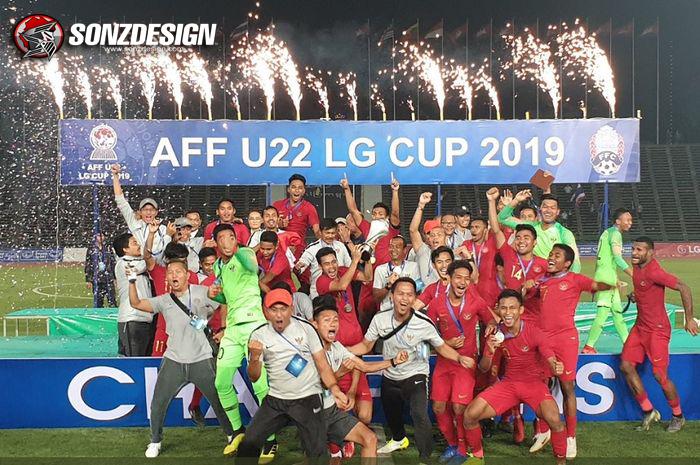 Juara AFF, Timnas U-22 Bungkam Thailand!
