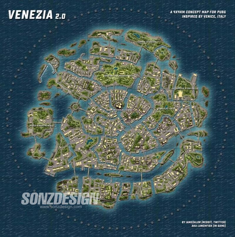 Map Venezia, Bocoran Update PUBG Mobile!